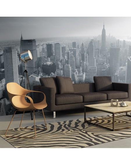 XXL stenska poslikava New York City skyline in black and white