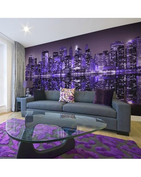XXL stenska poslikava American violet