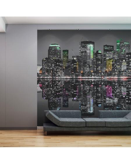 XXL stenska poslikava NYC A place where the dreams are made of