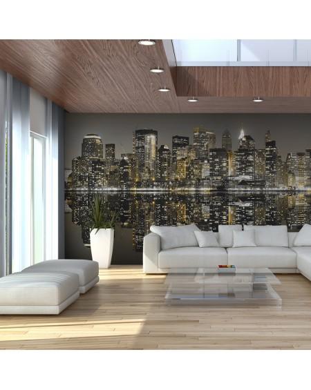 XXL stenska poslikava American skyscrapers