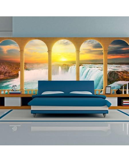 XXL stenska poslikava Dream about Niagara Falls