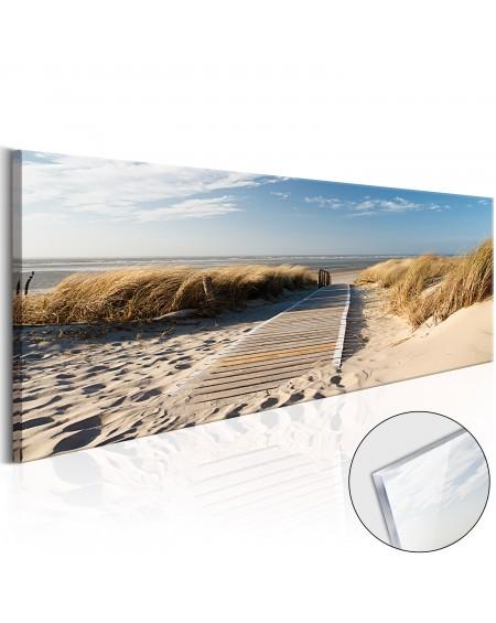 Akrilni tisk - Wild Beach [Glass]