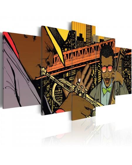 Slika Jazz in comic
