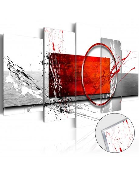 Akrilni tisk Wintry Expression [Glass]