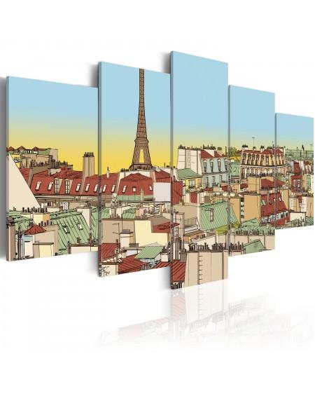 Slika Idyllic parisian picture