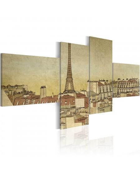 Slika Parisian chic in retro style