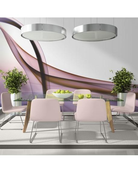 Stenska poslikava Photo wallpaper – Purple abstraction