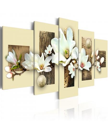 Slika Texture and magnolia