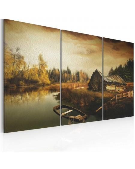 Slika Idyllic village triptych