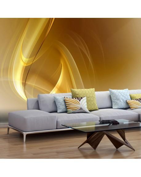 Stenska poslikava Gold fractal background