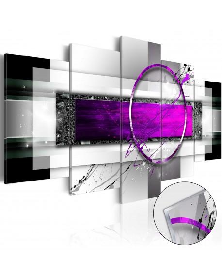 Akrilni tisk Violet Rim [Glass]