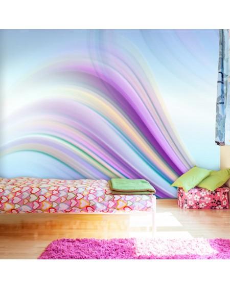 Stenska poslikava - Rainbow abstract background
