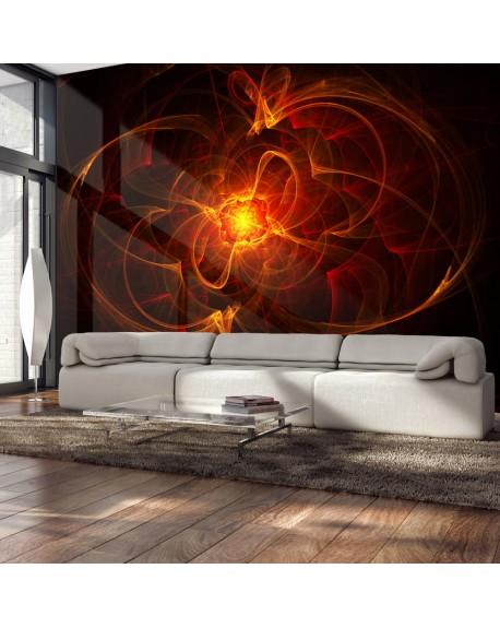 Stenska poslikava Abstract fire