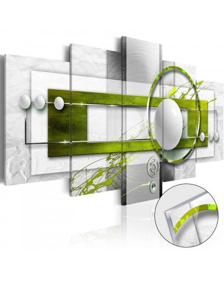 Akrilni tisk - Green Energy [Glass]