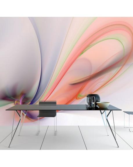 Stenska poslikava Silky colorful smoke