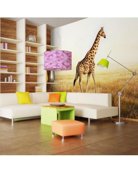 Stenska poslikava - giraffe - walk