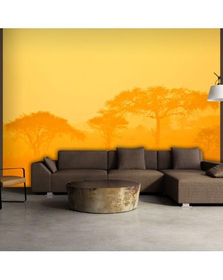 Stenska poslikava - Orange savanna