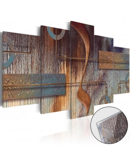 Akrilni tisk Oriental Composition [Glass]