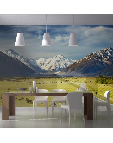 Stenska poslikava - Southern Alps, New Zealand