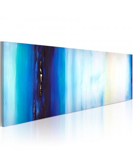 Ročno naslikana slika Blue liquid