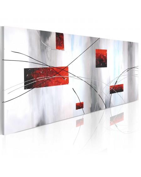 Ročno naslikana slika Geometric manifestation