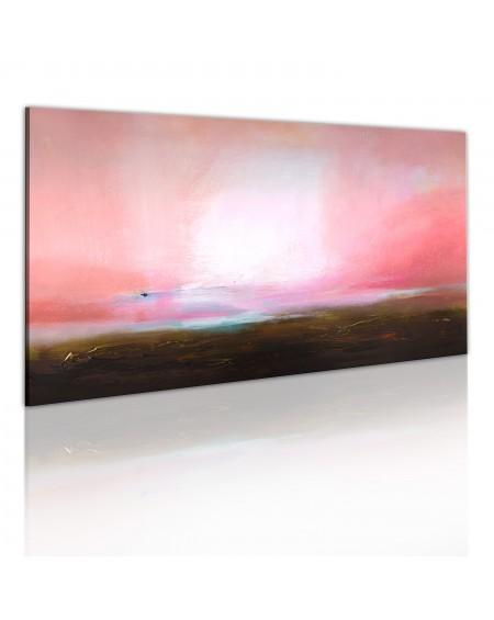 Ročno naslikana slika Distant horizon