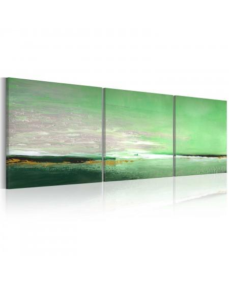 Ročno naslikana slika Seagreen coast