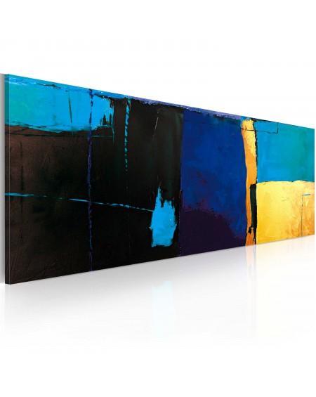 Ročno naslikana slika Fascination with the blue color