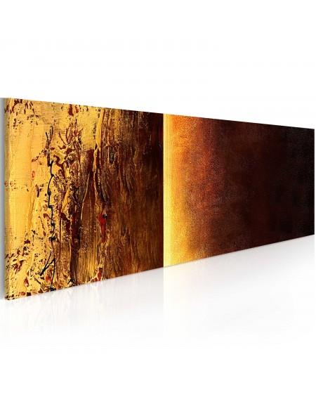 Ročno naslikana slika Two textures