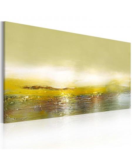 Ročno naslikana slika Oncoming wave