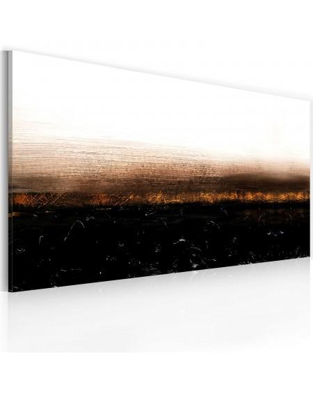Ročno naslikana slika Black soil (Abstraction)