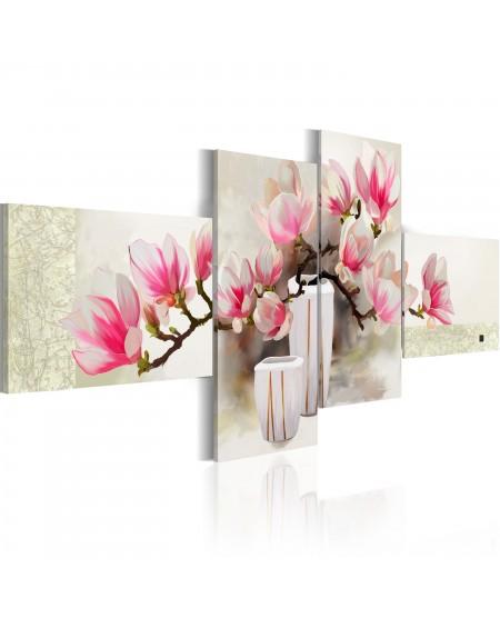 Ročno naslikana slika Fragrance of magnolias