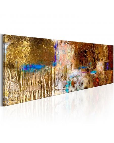 Ročno naslikana slika Golden Structure