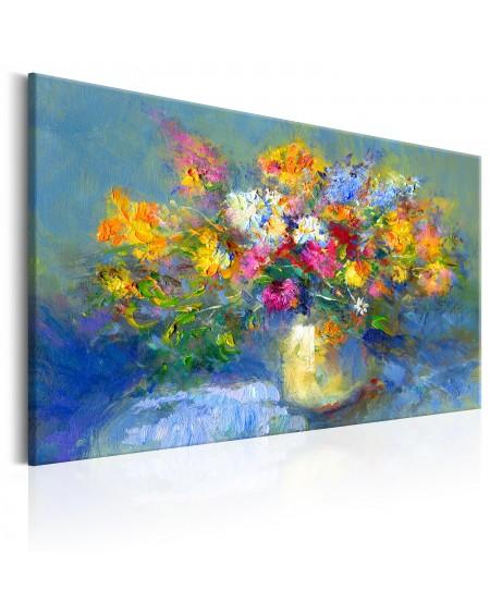 Ročno naslikana slika Autumn Bouquet