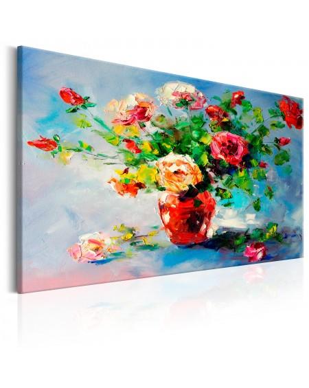 Ročno naslikana slika Beautiful Roses