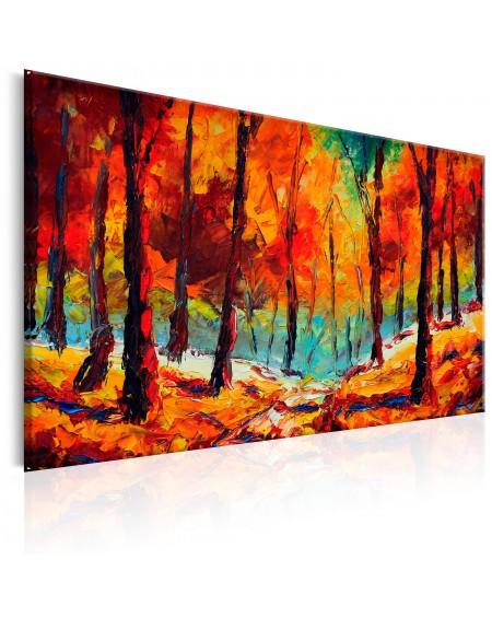 Ročno naslikana slika Artistic Autumn