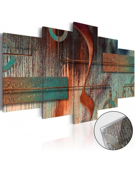 Akrilni tisk Abstract Melody [Glass]