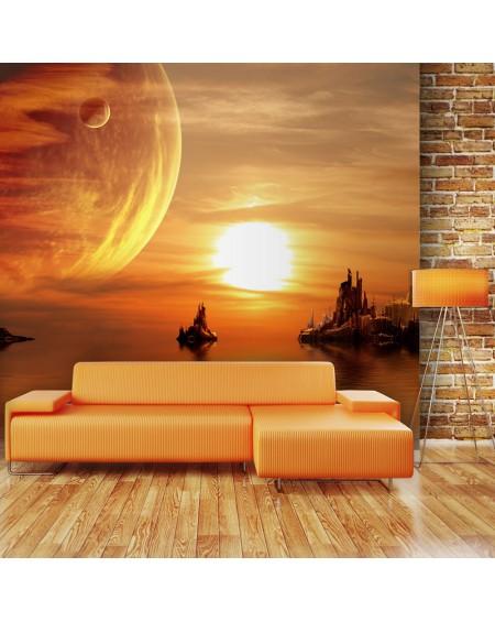 Stenska poslikava - Fantasy sunset