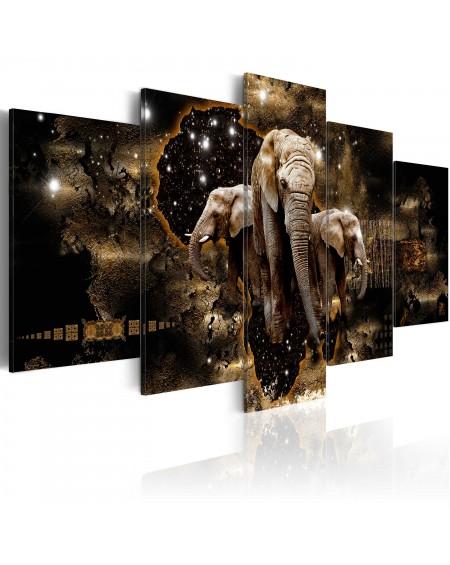 Slika Brown Elephants