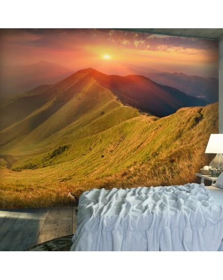 Stenska poslikava Beautiful autumn landscape, Carpathians