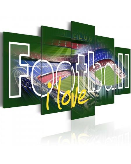 Slika I Love Football