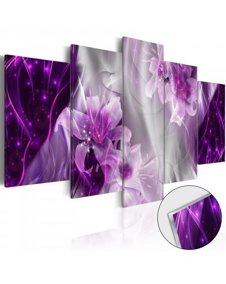 Akrilni tisk - Purple Utopia [Glass]