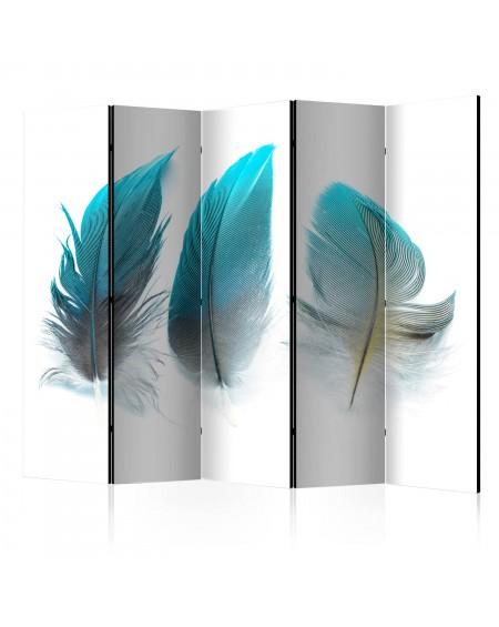 Španska stena Blue Feathers II [Room Dividers]