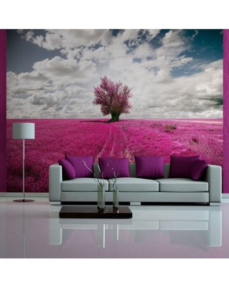 Stenska poslikava - Magenta meadow