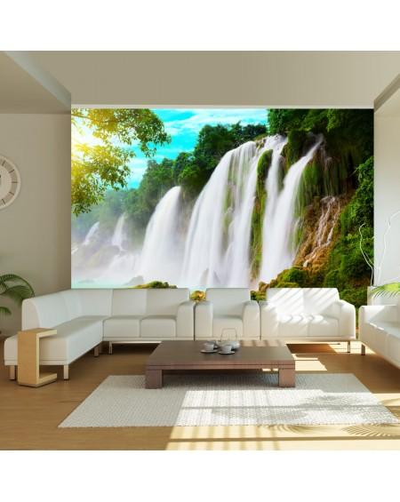 Stenska poslikava - Detian - waterfall (China)