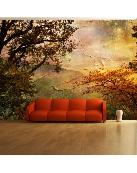 Stenska poslikava - Painted autumn