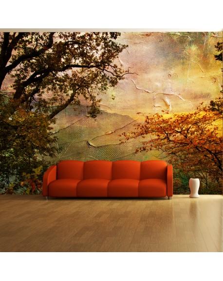 Stenska poslikava Painted autumn