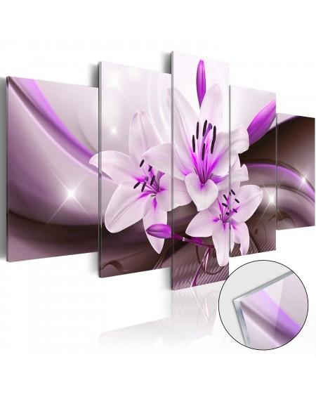 Akrilni tisk - Violet Desert Lily [Glass]