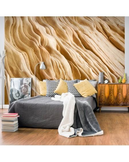 Stenska poslikava - Wavy sandstone forms