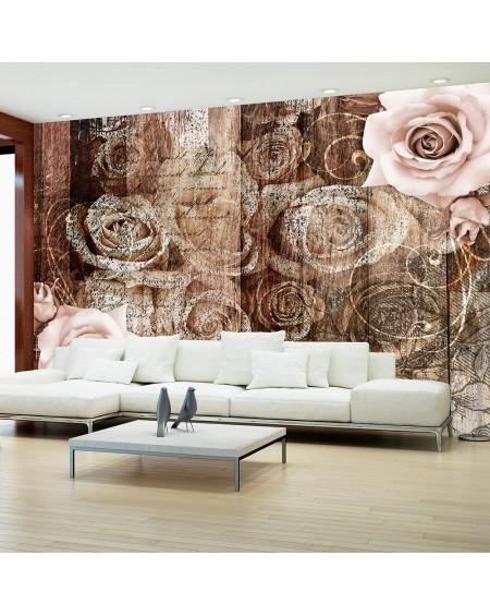 Stenska poslikava Old Wood & Roses